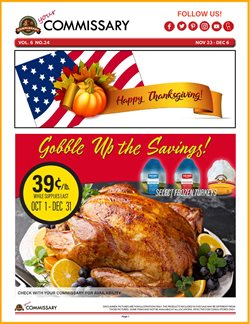 Grocery & Drug offers in the Commissary catalogue in Fairfield CA ( 5 days left )