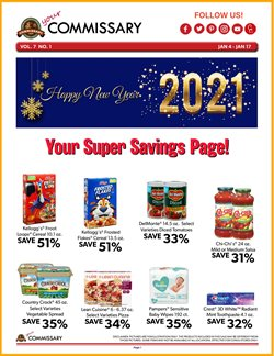 Grocery & Drug offers in the Commissary catalogue in Ruskin FL ( Expires today )