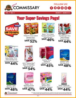 Grocery & Drug offers in the Commissary catalogue in Wichita KS ( 2 days ago )
