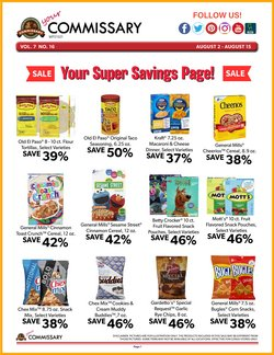 Grocery & Drug deals in the Commissary catalog ( 1 day ago)