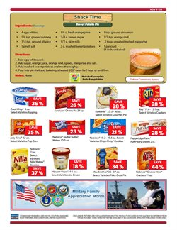 Commissary deals in the New York weekly ad
