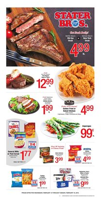 Stater Bros deals in the Whittier CA weekly ad