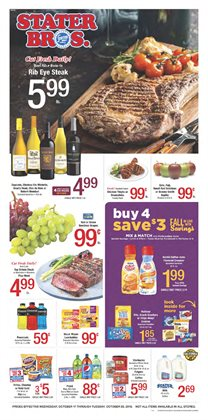 Stater Bros deals in the Fontana CA weekly ad
