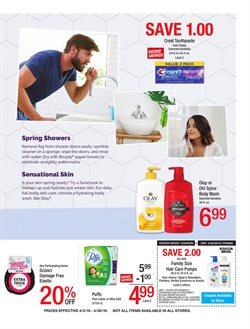 Cleaning products deals in the Stater Bros weekly ad in Yorba Linda CA