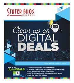 Stater Bros deals in the Santa Ana CA weekly ad