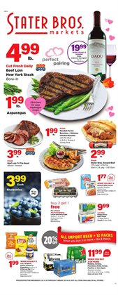 Stater Bros catalogue in Vista CA ( Expires tomorrow )