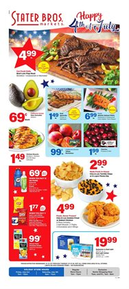 Stater Bros catalogue in Inglewood CA ( Expires tomorrow )