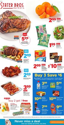Stater Bros catalogue ( 3 days left )