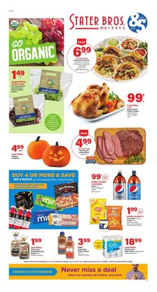 Stater Bros deals in the Stater Bros catalog ( 4 days left)