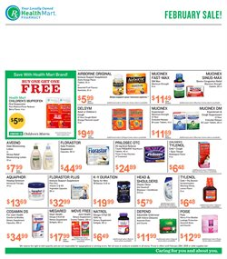Beauty & Personal Care deals in the Health Mart weekly ad in Largo FL