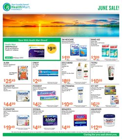 Gel deals in the Health Mart weekly ad in Charleston WV