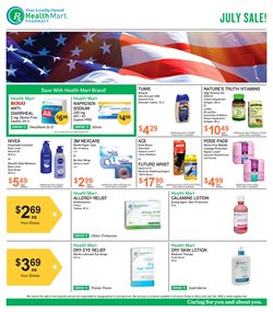 Beauty & Personal Care deals in the Health Mart weekly ad in South Gate CA