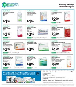 Gel deals in the Health Mart weekly ad in Sioux Falls SD
