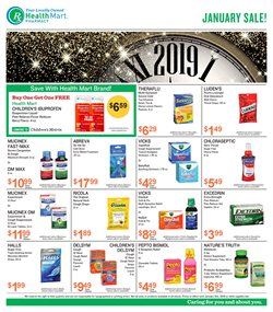 Beauty & Personal Care deals in the Health Mart weekly ad in Livonia MI