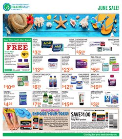 Beauty & Personal Care deals in the Health Mart weekly ad in Bothell WA