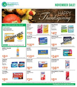 Beauty & Personal Care deals in the Health Mart weekly ad in Ann Arbor MI