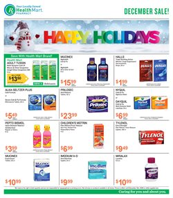 Beauty & Personal Care deals in the Health Mart weekly ad in Denton TX