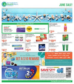 Beauty & Personal Care deals in the Health Mart catalog ( 18 days left)