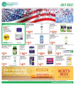 Beauty & Personal Care deals in the Health Mart catalog ( 5 days left)