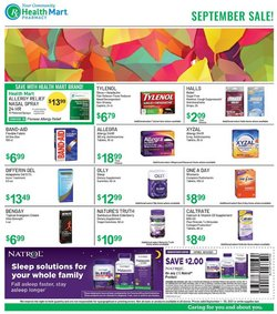 Beauty & Personal Care deals in the Health Mart catalog ( 6 days left)