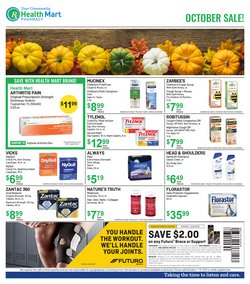 Beauty & Personal Care deals in the Health Mart catalog ( 9 days left)