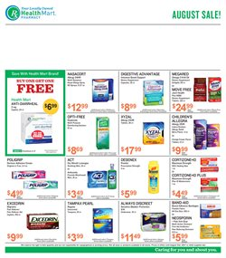 Health Mart deals in the Houston TX weekly ad