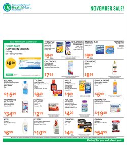 Beauty & Personal Care deals in the Health Mart weekly ad in Bell CA