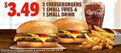 Restaurants deals in the Burger King weekly ad in Johnstown PA