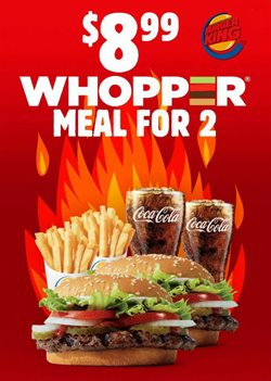 Restaurants offers in the Burger King catalogue in Tyler TX ( 2 days left )