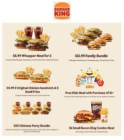 Chicken deals in Burger King