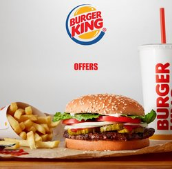Restaurants deals in the Burger King catalog ( Expires tomorrow)