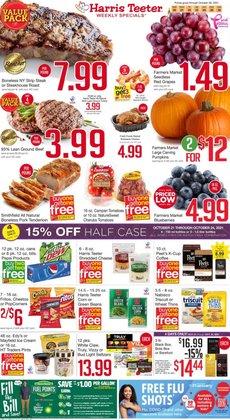 Grocery & Drug deals in the Harris Teeter catalog ( Expires tomorrow)