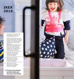 Table deals in the Ikea weekly ad in New York