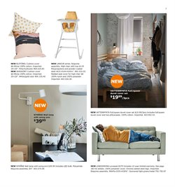 Lamp deals in the Ikea weekly ad in New York