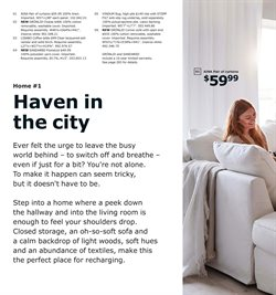 Curtains deals in the Ikea weekly ad in New York