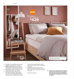 Mattress deals in the Ikea weekly ad in Chicago Heights IL