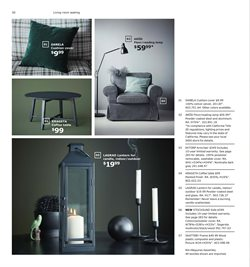 Candle deals in the Ikea weekly ad in New York