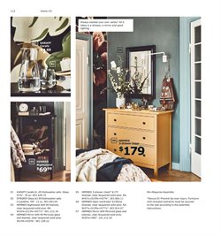 Nightstand deals in the Ikea weekly ad in New York