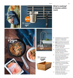 Kitchen utensils deals in the Ikea weekly ad in New York