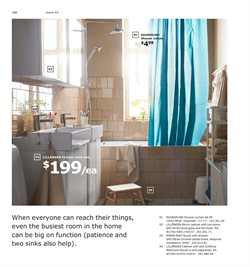 Shower curtain deals in the Ikea weekly ad in Dallas TX