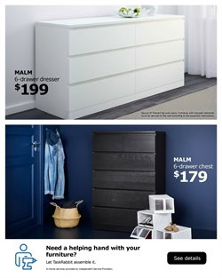 Furniture deals in the Ikea weekly ad in Olympia WA