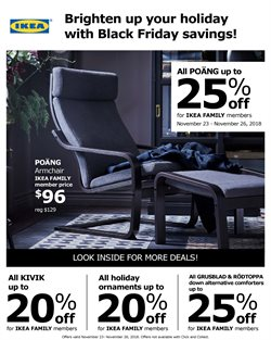 Decoration deals in the Ikea weekly ad in Kent WA