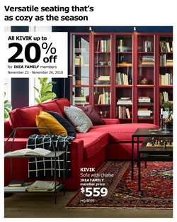 Sofa deals in the Ikea weekly ad in Stone Mountain GA