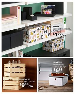 Boxes deals in the Ikea weekly ad in Columbus OH