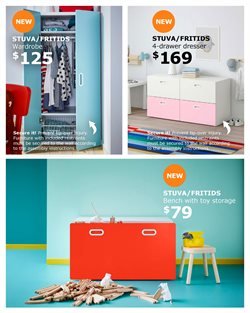 Dresser deals in the Ikea weekly ad in New York