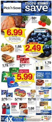 Grocery & Drug deals in the Pick'n Save weekly ad in Kenosha WI