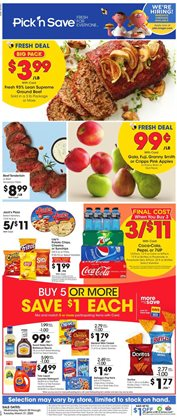 Grocery & Drug offers in the Pick'n Save catalogue in Janesville WI ( Expires tomorrow )
