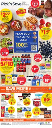 Pick'n Save catalogue in Appleton WI ( Expires tomorrow )