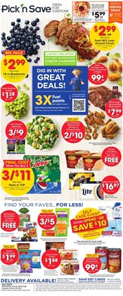 Grocery & Drug offers in the Pick'n Save catalogue in Janesville WI ( 3 days left )