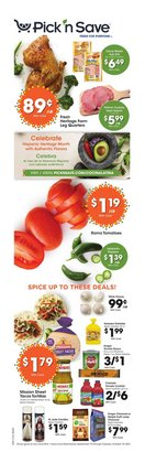 Grocery & Drug deals in the Pick'n Save catalog ( 3 days left)